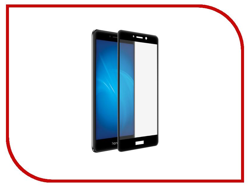 Аксессуар Защитное стекло Huawei Honor 6X BROSCO Full Screen Black HW-H6X-GLASS-BLACK<br>