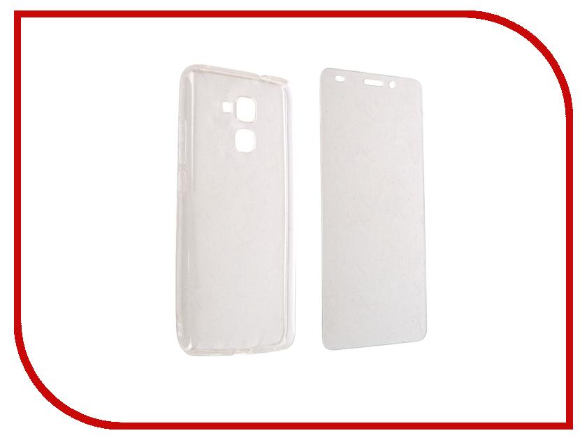 Аксессуар Защитный комплект для Huawei Honor 5C DF hwKit-02 аксессуар закаленное стекло huawei honor y336 y3c df hwsteel 18