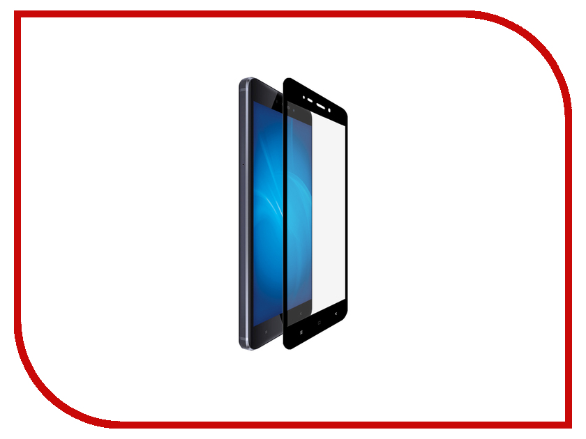 Аксессуар Закаленное стекло для Xiaomi Redmi 4 DF Full Screen xiColor-04 Black top quality new for xiaomi redmi hongmi 4 4 pro lcd display touch screen digitizer assembly replacement parts with tools as gift