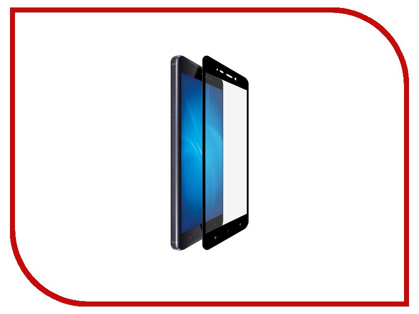 Аксессуар Закаленное стекло Xiaomi Redmi 4 DF Fullscreen xiColor-04 Black