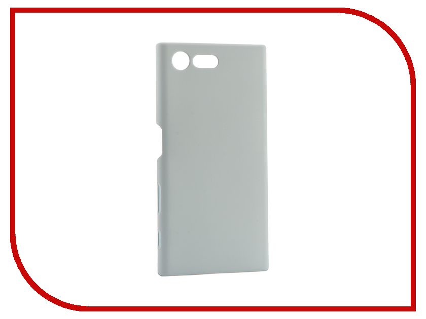 Аксессуар Чехол Sony Xperia X Compact BROSCO Blue XC-SOFTTOUCH-MISTBLUE<br>