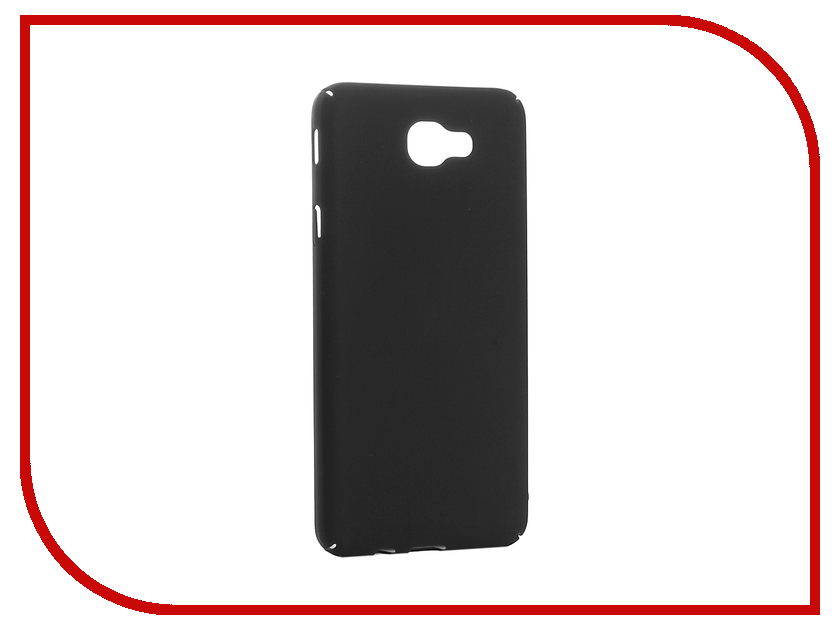 Аксессуар Чехол Samsung Galaxy J5 Prime 2016 BROSCO Black SS-J5P(6)-4SIDE-ST-BLACK 2017 чехол книжка st case 5 5 6 inch иск кожа black st c sm5 5 6 brn lth