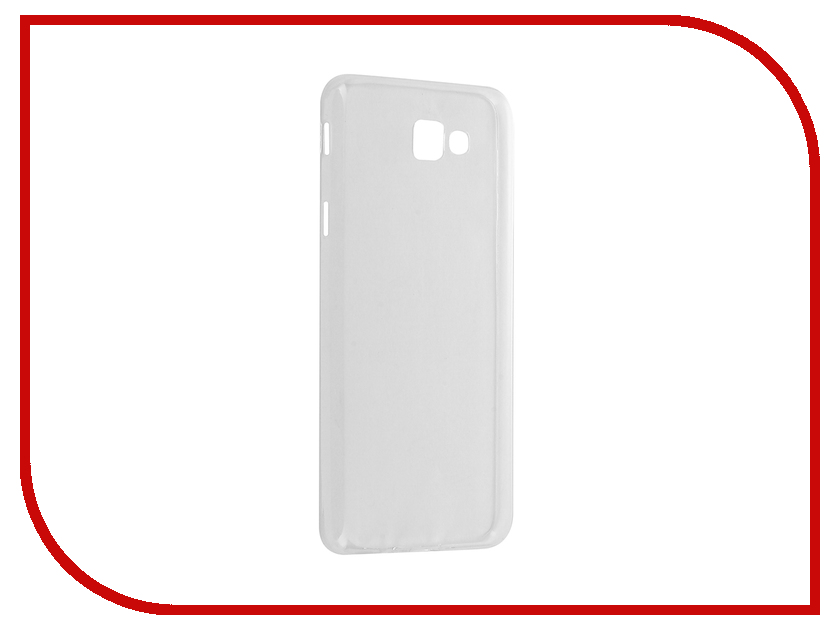 где купить  Аксессуар Чехол Samsung Galaxy J5 Prime 2016 BROSCO Silicone Transparent SS-J5P(6)-TPU-TRANSPARENT  дешево