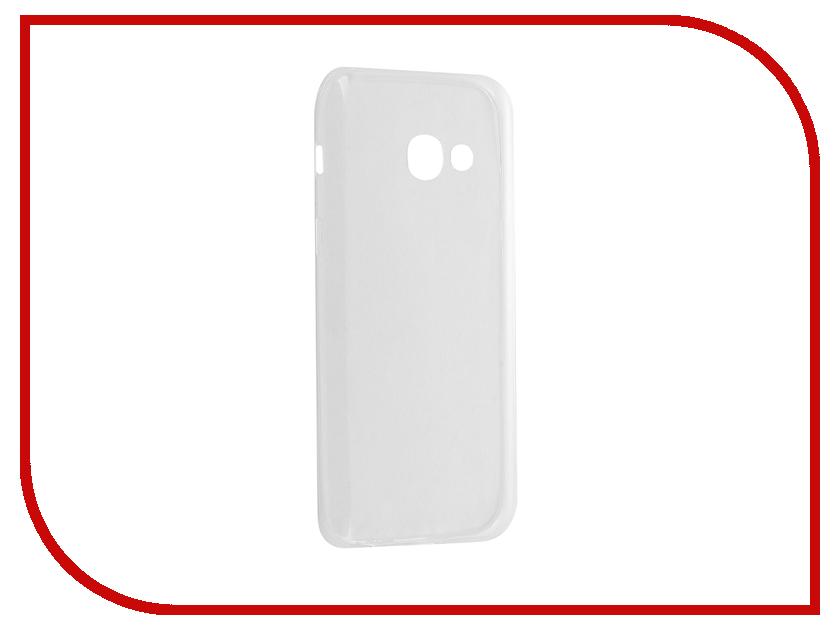 все цены на  Аксессуар Чехол Samsung Galaxy A3 2017 BROSCO Silicone Transparent SS-A3(7)-TPU-TRANSPARENT  онлайн