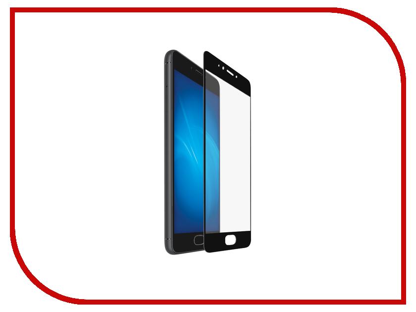 Аксессуар Защитное стекло Meizu Pro 6 BROSCO Full Screen Black MZ-PRO6-GLASS-BLACK аксессуар защитное стекло meizu pro 6 caseguru full screen 0 3mm black 87012