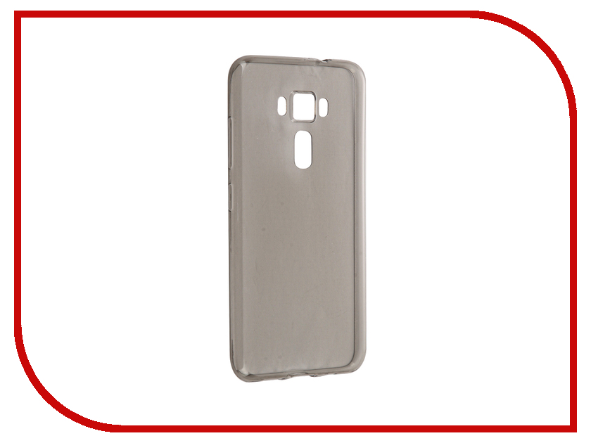 Аксессуар Чехол ASUS ZenFone 3 ZE520KL BROSCO Silicone Black AS-ZF35.2-TPU-BLACK<br>