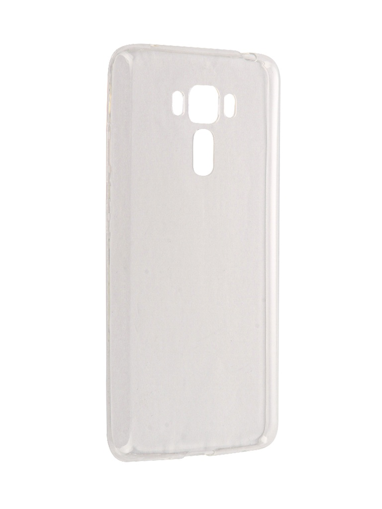 Чехол Brosco для ASUS ZenFone 3 Laser ZC551KL Silicone Transparent AS-ZF3LSR-TPU-TRANSPARENT