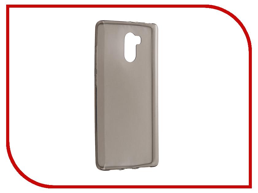 Аксессуар Чехол Xiaomi Redmi 4 BROSCO Silicone Black XM-R4-TPU-BLACK