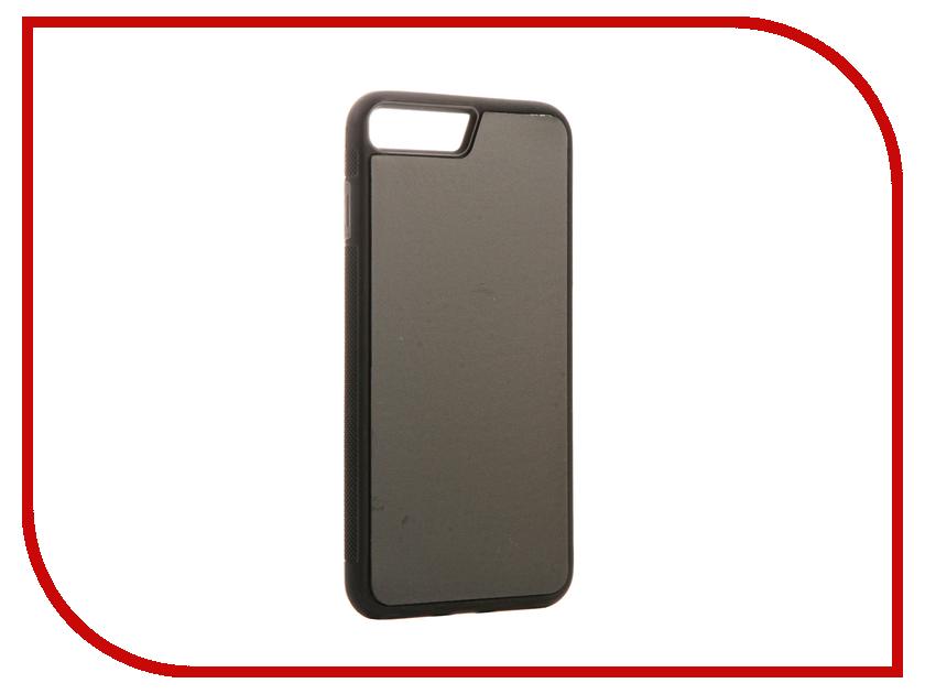 Аксессуар Чехол BROSCO для APPLE iPhone 7 Plus Black IP7P-STICKY-BLACK аксессуар чехол htc u ultra brosco black htc uu book black