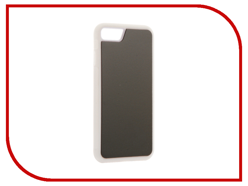 Аксессуар Чехол BROSCO для APPLE iPhone 7 White IP7-STICKY-WHITE<br>