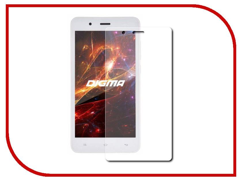 Аксессуар Защитное стекло Digma Vox S504 LuxCase 0.33mm 82095 смартфон 5 digma vox s505