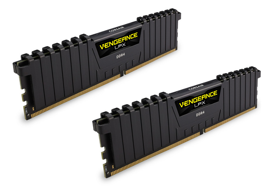 Модуль памяти Corsair Vengeance LPX DDR4 DIMM 2400MHz PC4-19200 CL16 - 8Gb KIT (2x4Gb) CMK8GX4M2A2400C16
