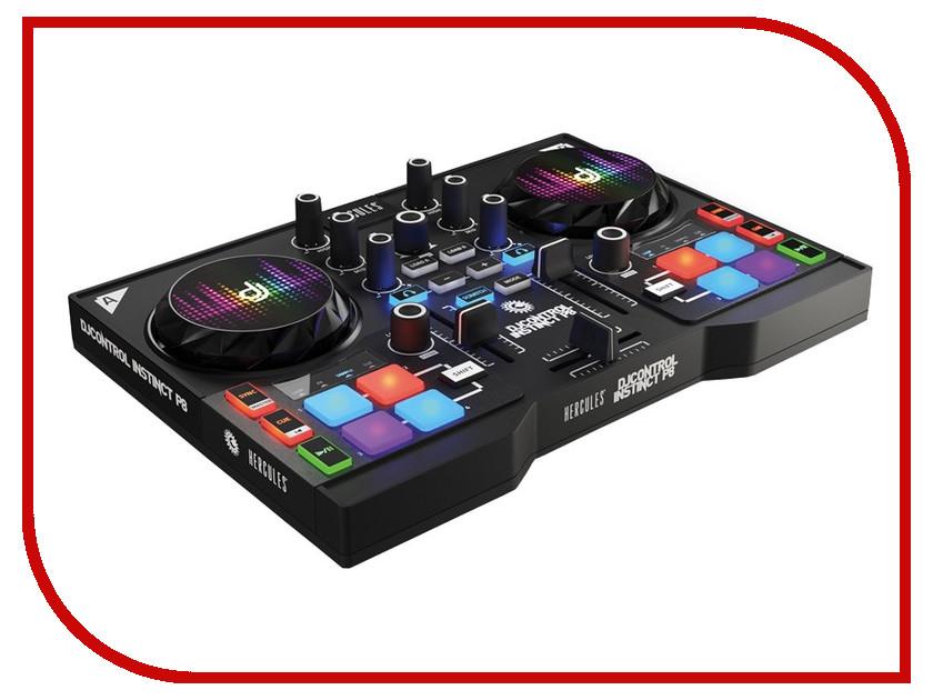 Dj контроллер Hercules DJControl Instinct P8 Party Pack 4780870 hercules 5041