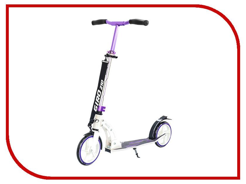 Самокат Tech Team Giro White-Purple шлем tech team plasma 550 m blue white