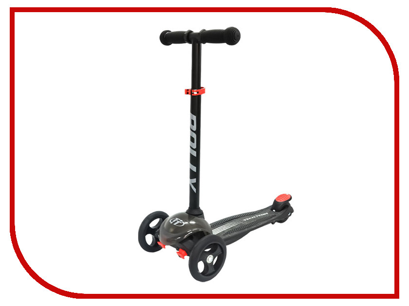 Самокат Tech Team Rally Black комплект защиты tech team roller star m black