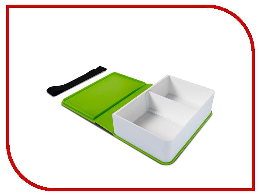 Ланч-бокс Black+Blum Box Book Lime BK-LB001