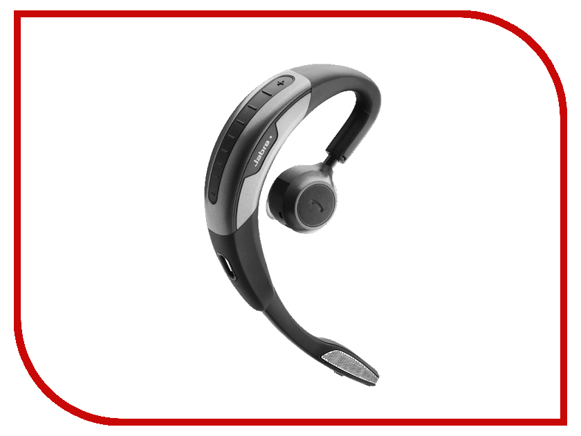 Гарнитура Jabra Motion UC+ 6640-906-101 bluetooth гарнитура jabra motion uc ms 6630 900 301 серый 6630 900 301