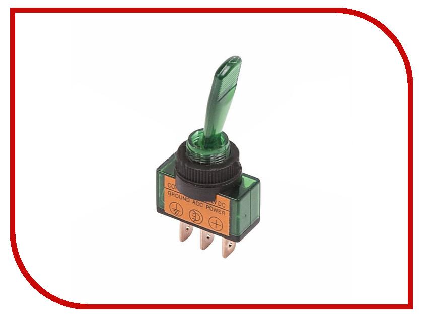 Переключатель Rexant 12V 20A (3c) Green 36-4373-01