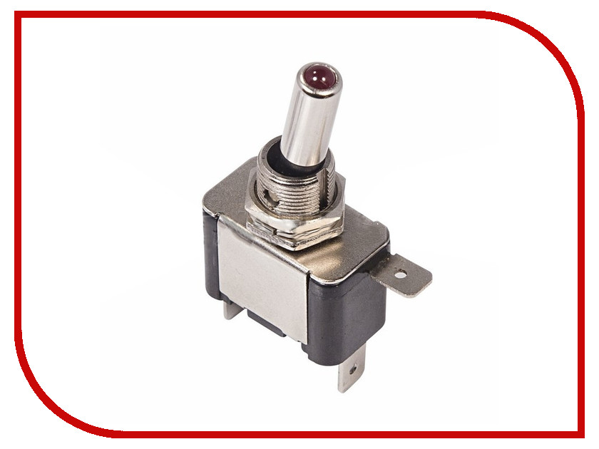 Переключатель Rexant 12V 20A (3c) Red 36-4330-01