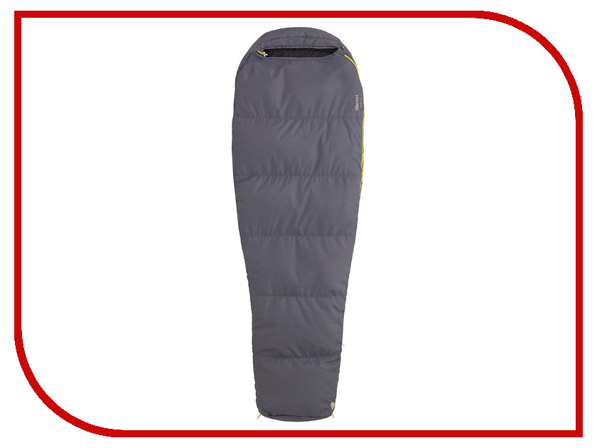 Спальник Marmot NanoWave 55 Long LZ Flint 21490-1105-LZ