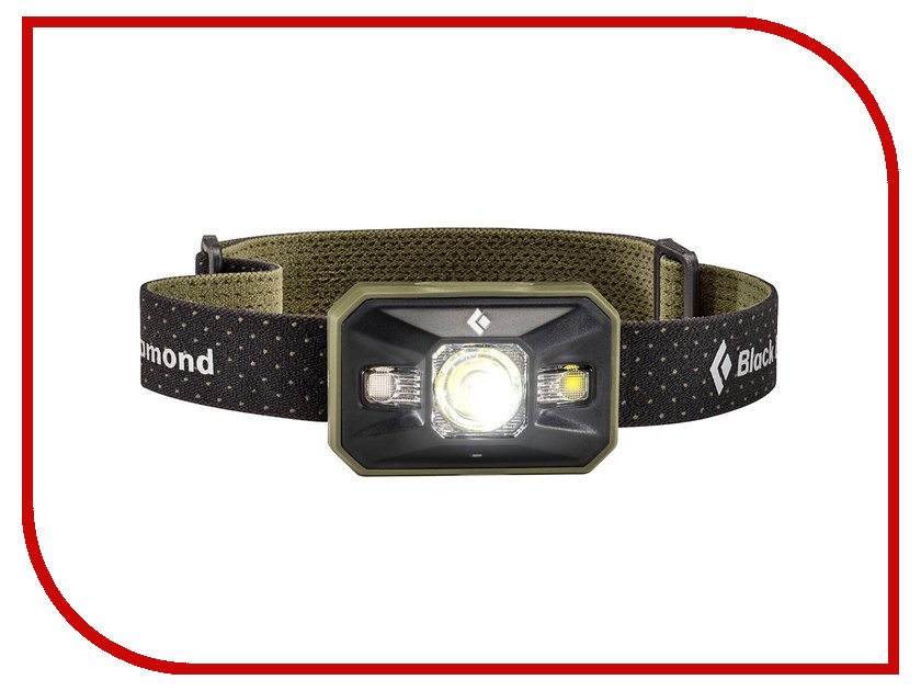 Фонарь Black Diamond Storm Headlamp Dark Olive BD620626DOLVALL1 diamond 230