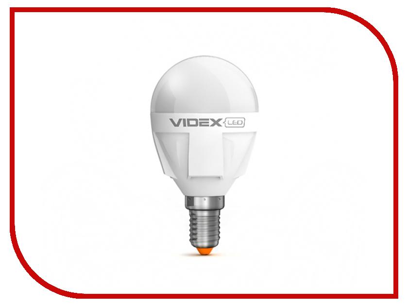 Лампочка Videx Шарик G45 5W E14 4100K VL-G45-05144<br>