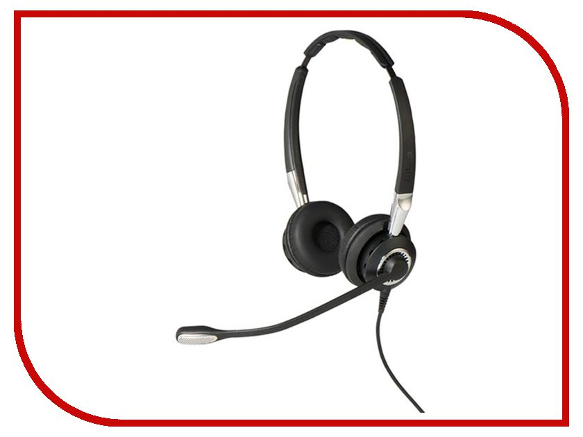 Jabra BIZ 2400 II Duo QD 2409-720-209 bluetooth гарнитура jabra motion uc ms 6630 900 301 серый 6630 900 301
