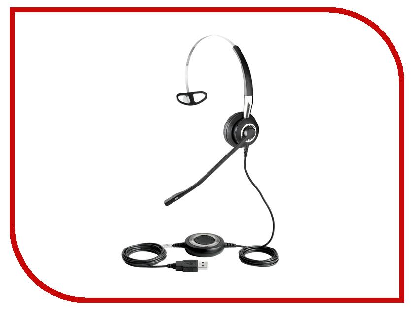 Jabra BIZ 2400 II Mono USB 3-1 2496-829-309 гарнитура jabra biz 2400 ii duo usb duo usb ms bt 2499 823 209