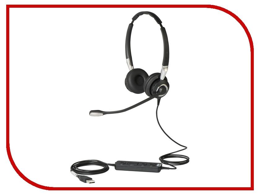 Jabra BIZ 2400 II Lync Duo USB 2499-823-309 гарнитура jabra biz 2400 ii duo usb duo usb ms bt 2499 823 209