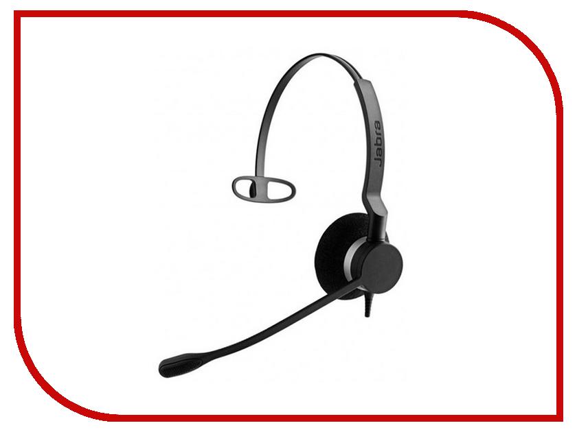 Гарнитура Jabra BIZ 2300 USB Mono 2393-829-109 bluetooth гарнитура jabra motion uc ms 6630 900 301 серый 6630 900 301