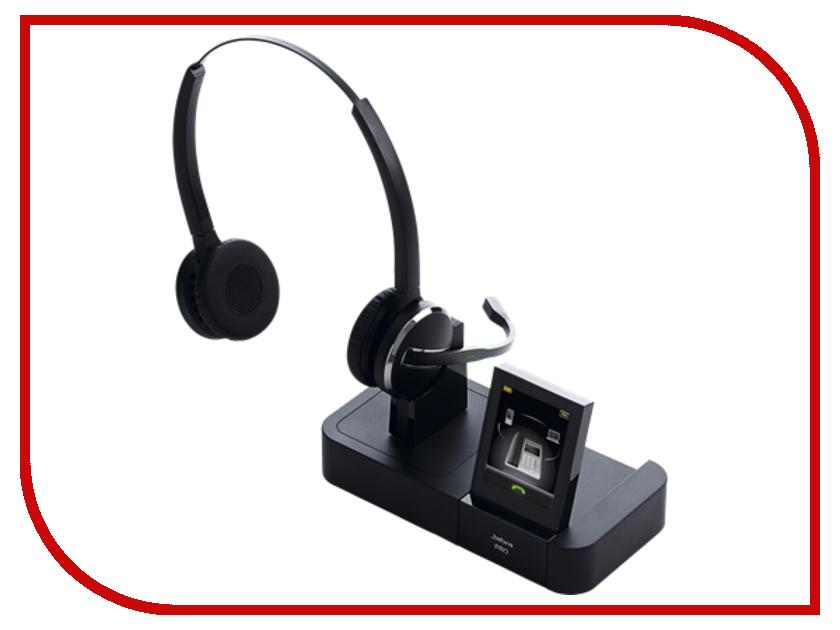 Гарнитура Jabra PRO 9465 Duo 9465-29-804-101 bluetooth гарнитура jabra motion uc ms 6630 900 301 серый 6630 900 301