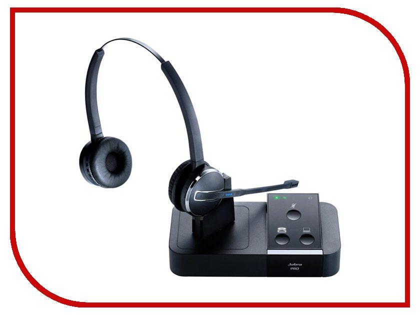 Гарнитура Jabra PRO 9450 Flex Duo 9450-29-707-101 bluetooth гарнитура jabra motion uc ms 6630 900 301 серый 6630 900 301