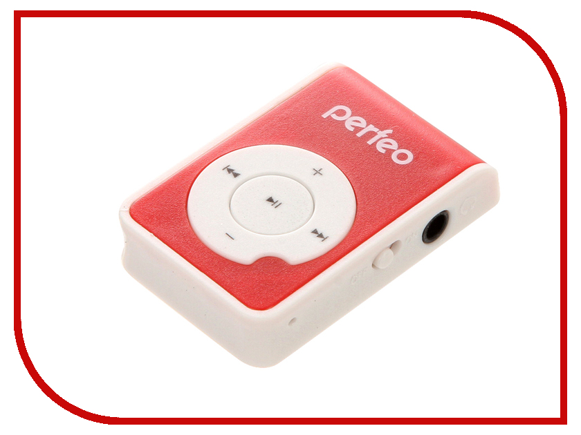 Плеер Perfeo Music Clip Ride VI-M020 Red