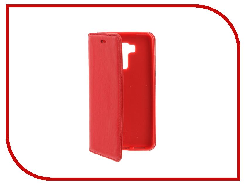 Аксессуар Чехол ASUS ZenFone 3 Laser 5.5 ZC551KL Cojess Book Case New Red с визитницей аксессуар чехол asus zenfone 3 laser zc551kl zibelino classico black zcl asu zc551kl blk