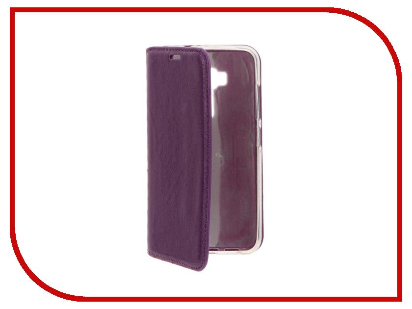 Аксессуар Чехол ASUS ZenFone 3 Laser 5.5 ZC551KL Cojess Book Case New Вид №2 Violet с визитницей аксессуар чехол asus zenfone 3 laser zc551kl zibelino classico black zcl asu zc551kl blk
