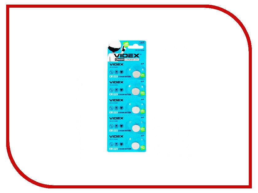 Батарейка Videx Lithium CR1225 BL-5 VID-CR1225 зарядное устройство videx