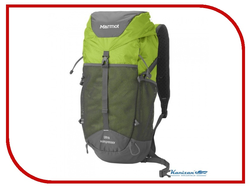 Рюкзак Marmot Ultra Kompressor Green Lime 25450-4680-ONE