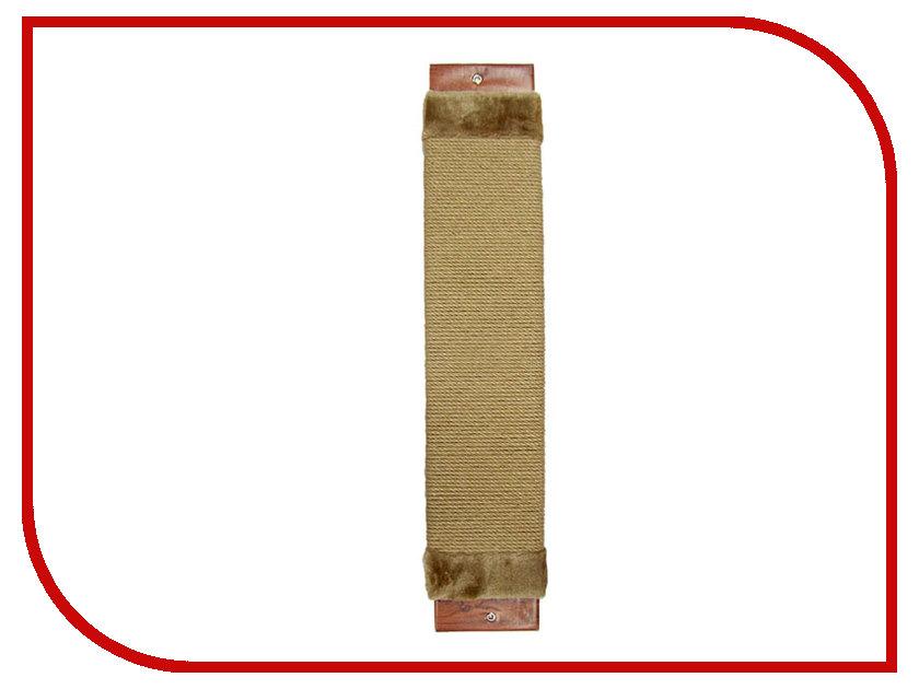 Когтеточка Неженка Джутовая 68x15cm 7102 когтеточка неженка большая джутовая угловая 68 30 см с кошачьей мятой