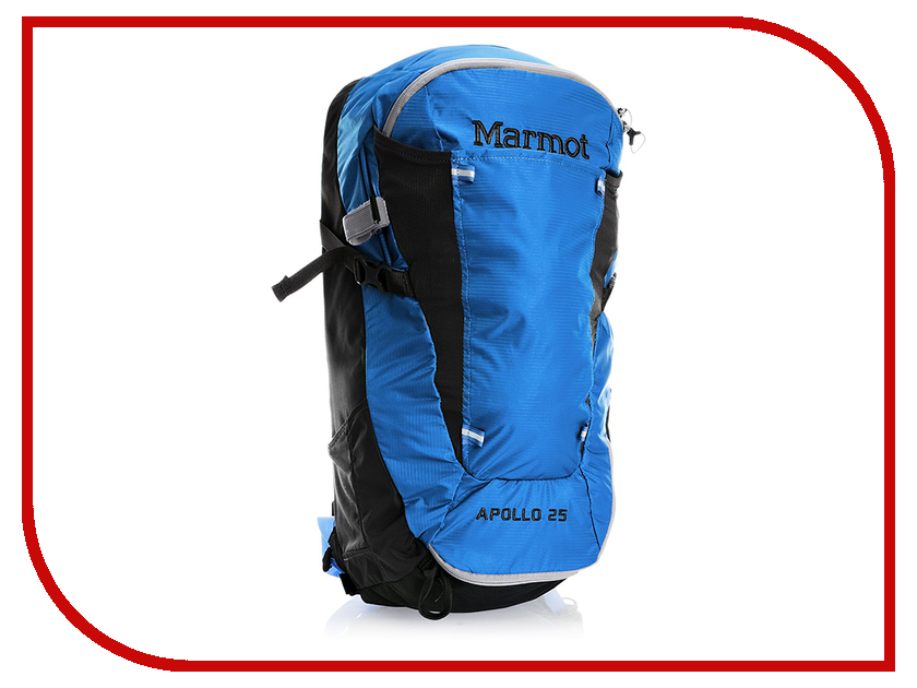 Рюкзак Marmot Apollo 25 Cobalt Blue-Black 26350-2764-ONE marmot lightweight zip neck ls cocona man black afterdark