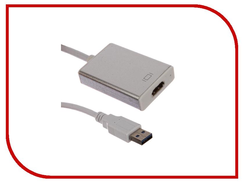 Аксессуар Greenconnect Greenline USB 3.0 AM - HDMI 19F Black GL-U32HD2 аккумулятор globusgps gl pb24 8800mah black