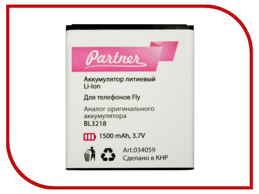 Аккумулятор Fly IQ400W Era BL3218 Partner 1500mAh ПР034059 аккумулятор explay alto partner 1500mah пр036803