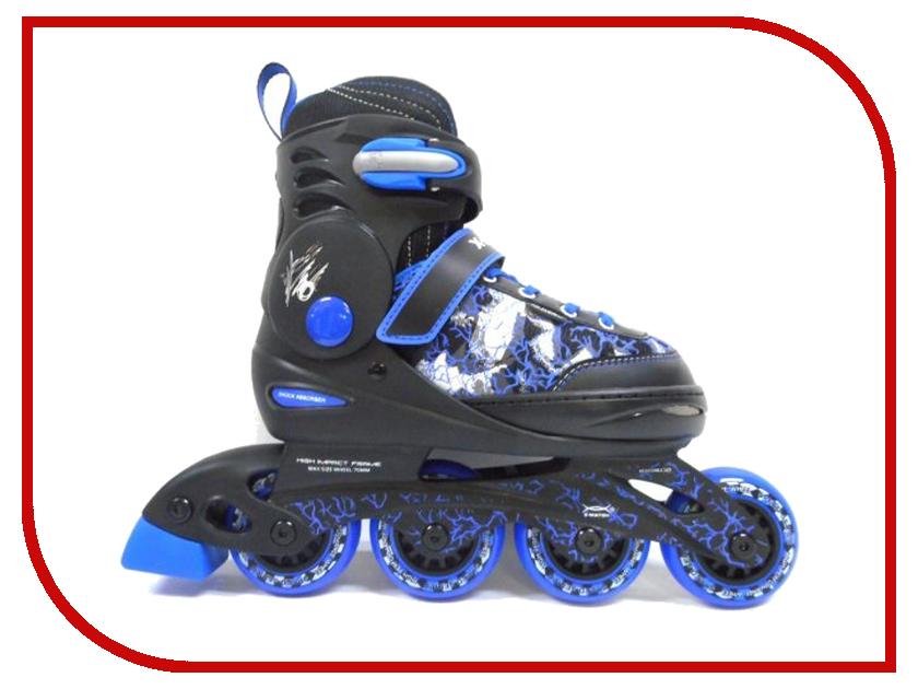 Коньки X-Match 34-37 Blue 64610