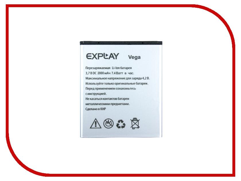 Аккумулятор Explay Vega Partner 2000mAh ПР034072 аккумулятор explay easy light partner 1800mah пр034075