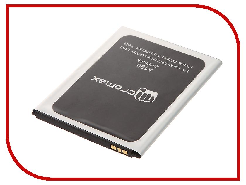 Аккумулятор Micromax A190 Partner 2000mAh ПР034394 аккумулятор explay vega partner 2000mah пр034072