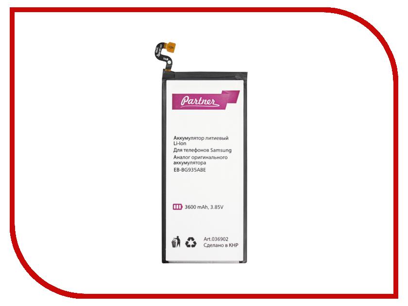 Аккумулятор Samsung Galaxy S7 Edge EB-BG935ABE Partner 3600mAh ПР036902