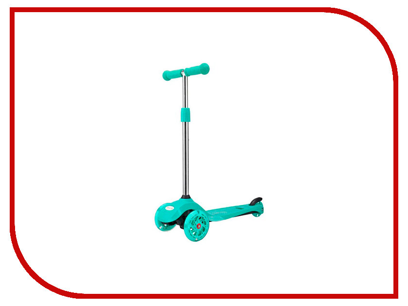 Самокат Moby Kids 64973 Turquoise