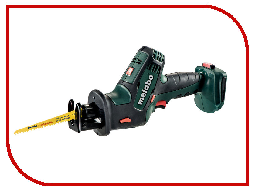 Пила Metabo SSE 18 LTX Compact 602266840