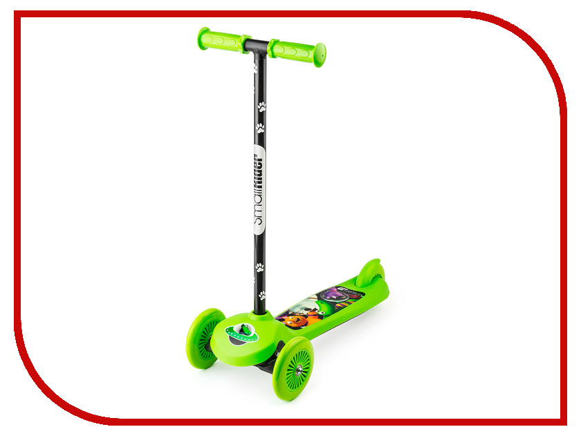 Самокат Small Rider Cosmic Zoo Scooter Green