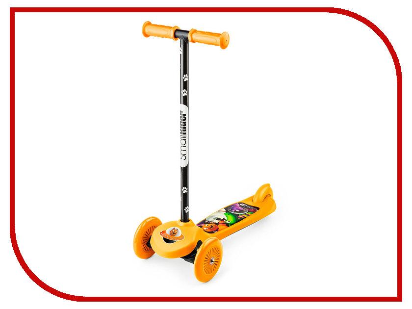 Самокат Small Rider Cosmic Zoo Scooter Orange