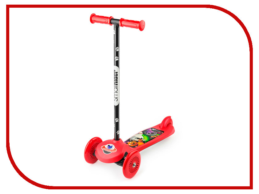 Самокат Small Rider Cosmic Zoo Scooter Red